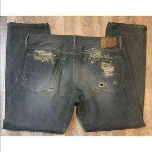 DENIM & SUPPLY Ralph Lauren Distressed Denim Jeans